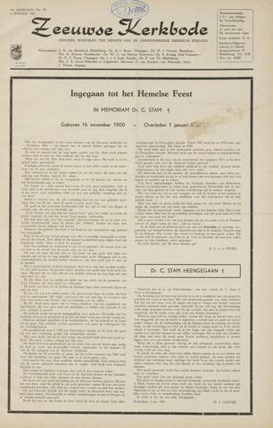 Zeeuwsche kerkbode, weekblad gewijd aan de belangen der gereformeerde kerken/ Zeeuwsch kerkblad 1961