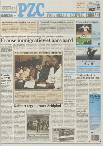 Provinciale Zeeuwse Courant 1997-02-27