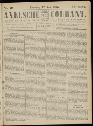 Axelsche Courant 1915-07-17