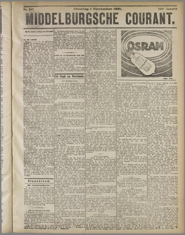 Middelburgsche Courant 1921-11-01