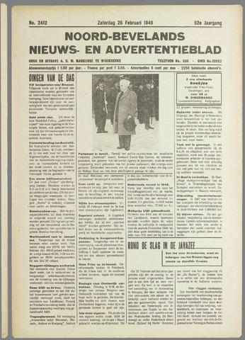 Noord-Bevelands Nieuws- en advertentieblad 1949-02-26