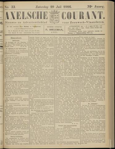 Axelsche Courant 1916-07-29