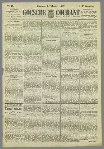 Goessche Courant 1927-02-07