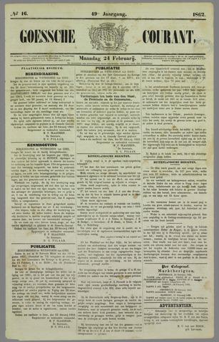 Goessche Courant 1862-02-24