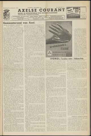 Axelsche Courant 1958-11-01