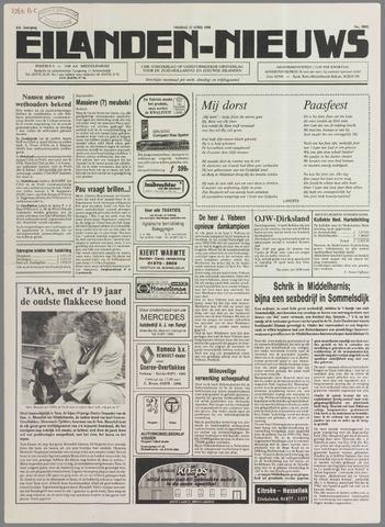 Eilanden-nieuws. Christelijk streekblad op gereformeerde grondslag 1990-04-13