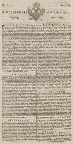 Middelburgsche Courant 1768-05-24