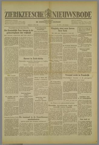 Zierikzeesche Nieuwsbode 1952-04-08