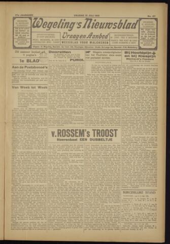 Zeeuwsch Nieuwsblad/Wegeling's Nieuwsblad 1931-07-10
