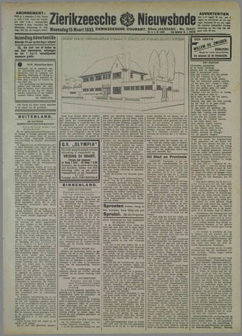 Zierikzeesche Nieuwsbode 1933-03-15