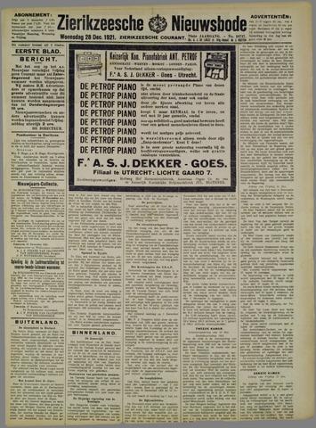 Zierikzeesche Nieuwsbode 1921-12-28
