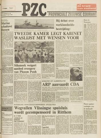 Provinciale Zeeuwse Courant 1975-04-17