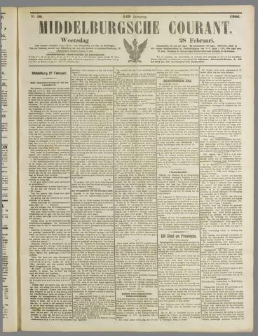 Middelburgsche Courant 1906-02-28