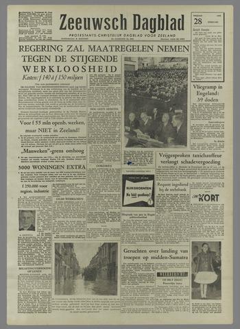 Zeeuwsch Dagblad 1958-02-28