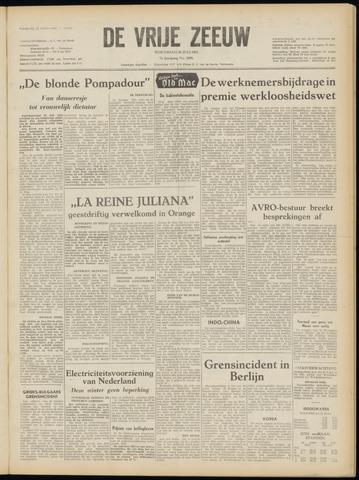 de Vrije Zeeuw 1952-07-30