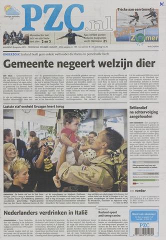 Provinciale Zeeuwse Courant 2010-08-09