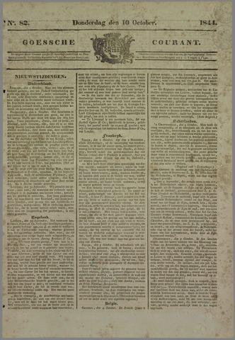 Goessche Courant 1844-10-10