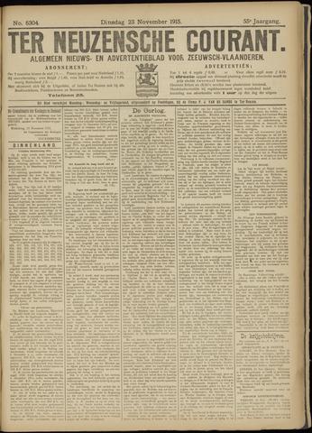 Ter Neuzensche Courant. Algemeen Nieuws- en Advertentieblad voor Zeeuwsch-Vlaanderen / Neuzensche Courant ... (idem) / (Algemeen) nieuws en advertentieblad voor Zeeuwsch-Vlaanderen 1915-11-23
