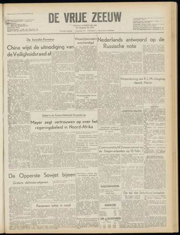 de Vrije Zeeuw 1955-02-04