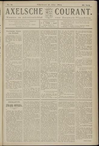 Axelsche Courant 1924-07-25