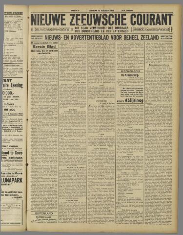 Nieuwe Zeeuwsche Courant 1925-08-22