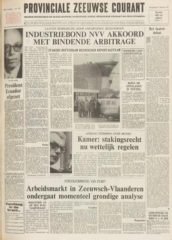 Provinciale Zeeuwse Courant 1972-02-17
