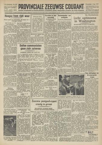 Provinciale Zeeuwse Courant 1948-08-04