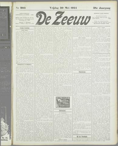 De Zeeuw. Christelijk-historisch nieuwsblad voor Zeeland 1924-05-30