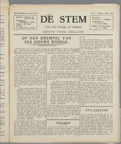 de Stem 1944-12-01