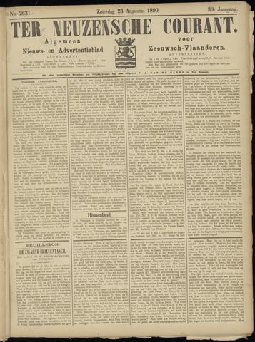 Ter Neuzensche Courant. Algemeen Nieuws- en Advertentieblad voor Zeeuwsch-Vlaanderen / Neuzensche Courant ... (idem) / (Algemeen) nieuws en advertentieblad voor Zeeuwsch-Vlaanderen 1890-08-23