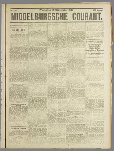 Middelburgsche Courant 1927-09-28