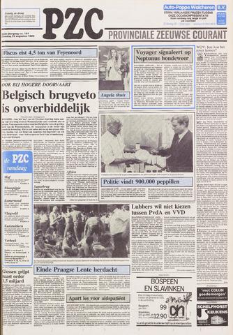 Provinciale Zeeuwse Courant 1989-08-22