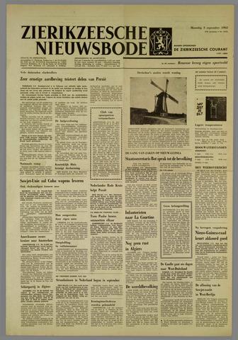 Zierikzeesche Nieuwsbode 1962-09-03
