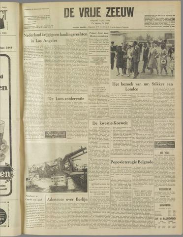 de Vrije Zeeuw 1961-07-14