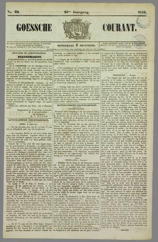 Goessche Courant 1856-12-04