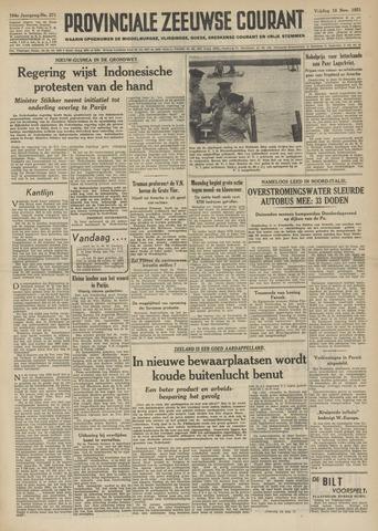 Provinciale Zeeuwse Courant 1951-11-16
