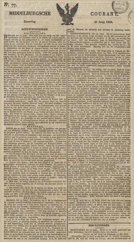 Middelburgsche Courant 1829-06-27