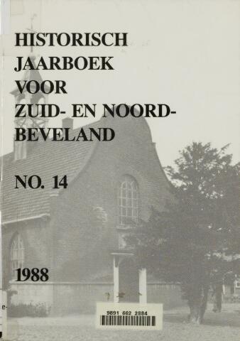 Historisch Jaarboek Zuid- en Noord-Beveland 1988-01-01