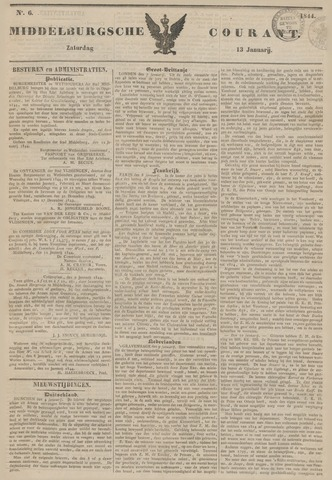 Middelburgsche Courant 1844-01-13