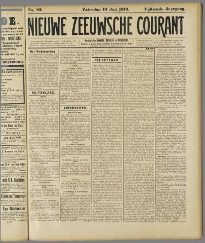 Nieuwe Zeeuwsche Courant 1919-07-19