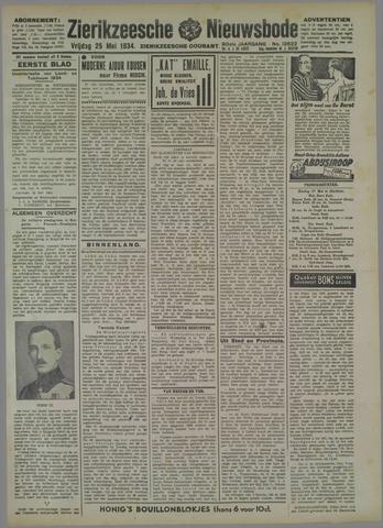 Zierikzeesche Nieuwsbode 1934-05-25