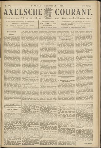 Axelsche Courant 1936-02-18
