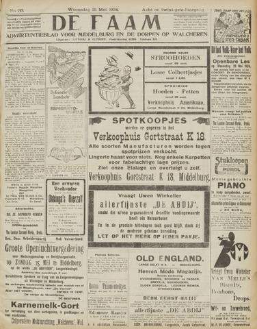 de Faam en de Faam/de Vlissinger 1924-05-21