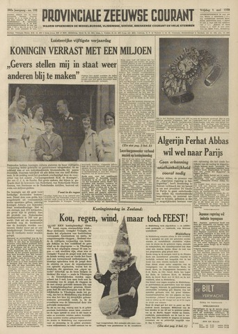 Provinciale Zeeuwse Courant 1959-05-01