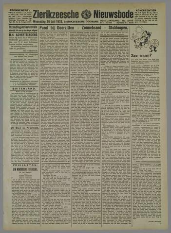 Zierikzeesche Nieuwsbode 1933-07-26