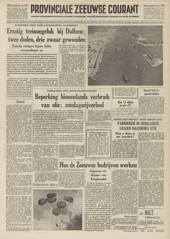 Provinciale Zeeuwse Courant 1956-11-21