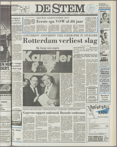 de Stem 1987-01-24