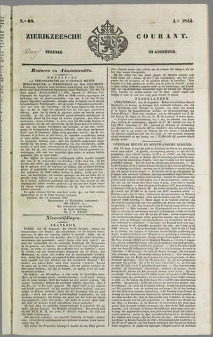 Zierikzeesche Courant 1844-08-23