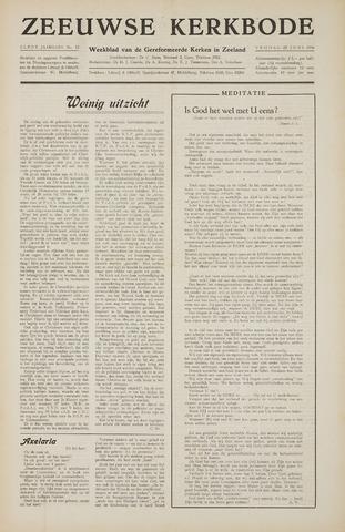 Zeeuwsche kerkbode, weekblad gewijd aan de belangen der gereformeerde kerken/ Zeeuwsch kerkblad 1956-06-22