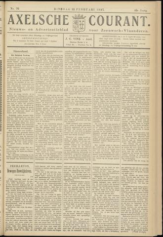 Axelsche Courant 1927-02-22